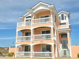 KD1007- JUST PEACHY; MAJESTIC 10BDRM OCEANFRONT! - Kill Devil Hills vacation rentals