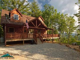 Majestic Pines log cabin - Bryson City vacation rentals