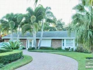 Bright and spacious redone mid-century home just 3 blocks from the beach in Aqualane Shores - Naples vacation rentals