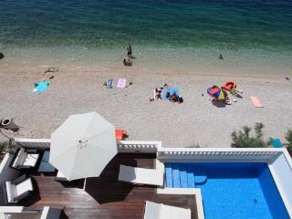 Seaside holiday villa with pool, Makarska riviera - Drasnice vacation rentals