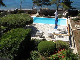 BEACHFRONT HOLIDAY VILLA ON ISLAND OF KORCULA - Southern Dalmatia Islands vacation rentals