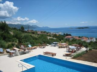Wonderful seaside villa with a pool, for rent - Korcula Town vacation rentals