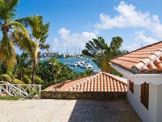 Waterfront Villa on French Oyster Pond overlooking the picturesque marina. - Saint Martin-Sint Maarten vacation rentals
