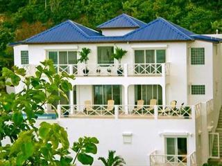 Twin Palms is a new luxury villa in the gated community of Dawn Beach Estate. - Saint Martin-Sint Maarten vacation rentals