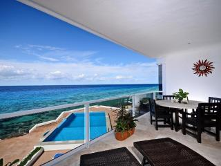 Gorgeous 3000 Sq. Ft. Oceanfront 3 Bedroom Condo!! - Cozumel vacation rentals