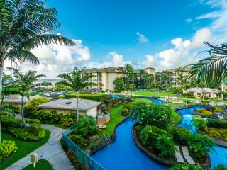 Oceanview Condo At Waipouli Beach Resort - Newly furnished & decorated - Cleaning included (C304) - Kapaa vacation rentals