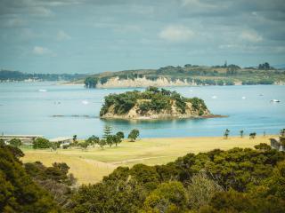 Winemakers Loft  Luxury with sea+vineyard views - Oneroa vacation rentals