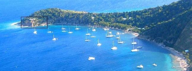 Aerial View Quart-A-Nancy Point, Cooper Island, BVI - Quart-A-Nancy Point, Cooper Island, BVI - Cooper Island - rentals