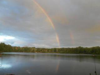Rainbows Promise on pretty lake, close to Pictured Rocks, woodsy area, hiking from door! - Munising vacation rentals