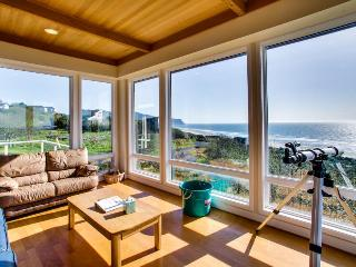 A luxury beach home with private hot tub, ocean views! - Neskowin vacation rentals