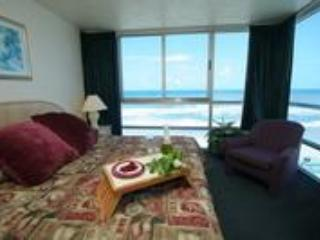 Oceanview Master bedroom - Daytona Beachfront Condo - Daytona Beach - rentals