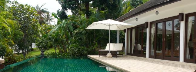 Tranquil poolside - Baan Phu Tawan, close to beaches. KOH SAMUI - Bophut - rentals