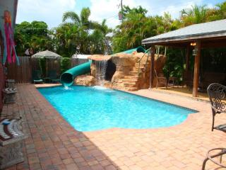 Tropical Pool Home with Water Park and Pavillion - Weston vacation rentals