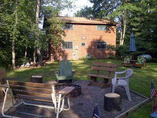 Lake Cottage on Chetek chain of lakes - Chetek vacation rentals