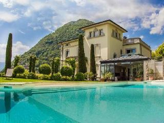 Mountain view Villa Concetta- superb garden, saltwater pool- alfresco shower - Argegno vacation rentals