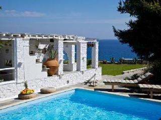 Nestled in a verdant valley, Agia Thalassa with sea views & tranquil pool - Paros vacation rentals