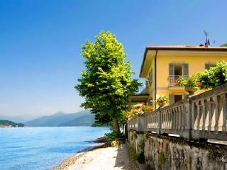 Peaceful Beachfront Villa Chicca on Lake Como - 2 Minute Walk to town of Lezzeno - Lezzeno vacation rentals