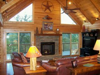 Chimney View Lodge-Upscale Log Cabin - Mtn views - Lake Lure vacation rentals