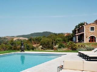Ferrosa- in the rolling hills of Tuscany, superb views, pool & pizza oven - Grosseto vacation rentals