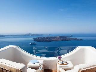 Native Eco Villa - Traditional Santorini architecture, dazzling sea views at this home - Imerovigli vacation rentals