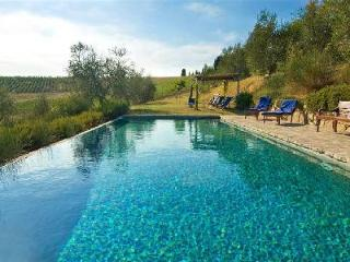 Villa Arianna offers picturesque panoramic views, a lush manicured garden and private pool - Castelfiorentino vacation rentals
