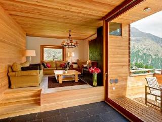 Contemporary Alpine Chalet Esprit with easy access to lift station, sauna & private chef - Belalp vacation rentals