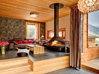 Contemporary luxury chalet Chloe with sauna, mountain views & private chef 2 min to lift station - Valais vacation rentals