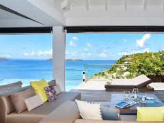 Brand new villa Upside opens onto deck, infinity pool & ocean with daily maid - Pointe Milou vacation rentals