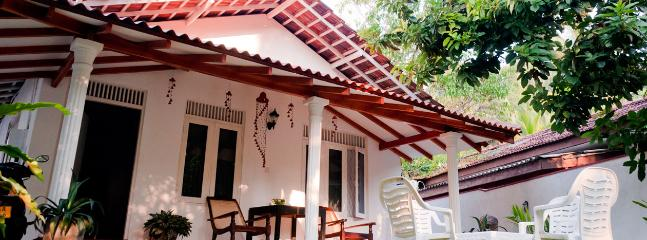 Blanca Cottage Front View - Blanca Cottage • Unawatuna Beach Villas - Unawatuna - rentals