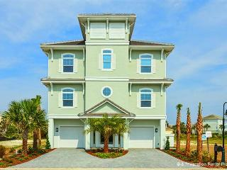 Atlantis, 11 Bedrooms, HDTVs, Pool, Spa, Elevator, Theater - Palm Coast vacation rentals