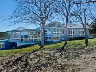 BLUFF HOUSE AT UPPER MAKONIKEY: GRAND WATER VIEWS & PRIVATE ASSOCIATION BEACHES - WT HWES-103 - West Tisbury vacation rentals