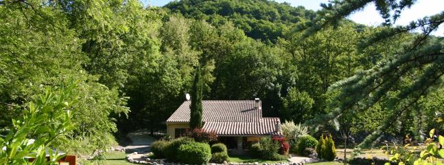 The house seen from the garden (south) - Sitinho - Valgorge - rentals