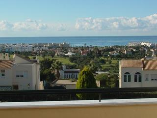 "View from terrace - Apartamento ""Córdoba"" in town Almerimar (Andalusia - Almerimar - rentals"