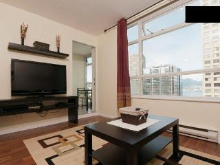 Downtown Vancouver 1br+den water view with parking - Vancouver Coast vacation rentals