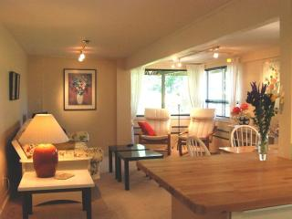 Private, Quiet, Waterfront, Garden Apt. in Langley - Langley vacation rentals