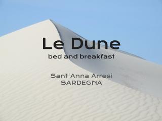 B&B Le Dune -sand dunes - Sant'Anna Arresi vacation rentals