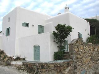 An Authentic Fully Renovated Cycladic stone House with Garden Near the Beach - Ano Mera vacation rentals