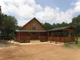 The Texan Log Cabin on Lake Buchanan - Burnet vacation rentals