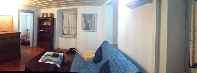 living room - Neoclassic Apartement  Ermoupolis Syros GREECE CYCLADES - Hermoupolis - rentals