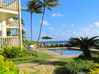 Oceanfront * A/C * 2 STEPS TO THE POOL*GREAT VIEWS - Koloa vacation rentals