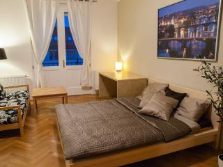 Stylish private apartment for 2-7 with 2 balconies - Prague vacation rentals