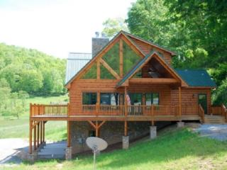 RiverTime-Upscale Riverfront Cabin near Boone & Skiing - Todd vacation rentals