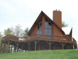Kiss the Sky-Cabin_Mountain Views_Hot Tub_Pool Table_Pet Friendly_Family Friendly_Private_Secluded - Piney Creek vacation rentals