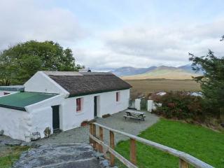 FOXGLOVE COTTAGE, detached, thatched cottage, solid-fuel stove, Jacuzzi bath, stunning views, near Cashel, Ref 26210 - Ballyconneely vacation rentals