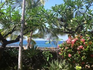 Ocean views from the Living Room of 1 Bedroom Deluxe at Casa De Emdeko 137 - Kailua-Kona vacation rentals