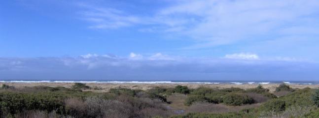 View from balcony - Ocean Front Condo at Ocean Shores, WA - Ocean Shores - rentals
