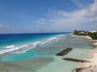 MODERN BEACHFRONT CONDO WITH AWESOME SEA VIEW!! - Hastings vacation rentals