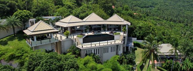 Aerial view - Villa Nava - Koh Samui - rentals
