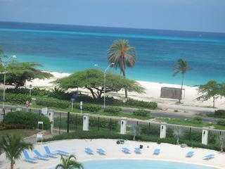 Beach and ocean view from living room balcony - Beachfront Luxury Penthouse w/big private terrace - Sierra Nevada - rentals