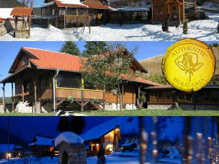 ski chalet near Borovets ski resort Bulgaria sleeps 15 sauna jacuzzi gym tavern A1 views - Madzhare vacation rentals